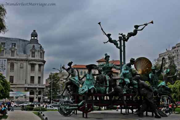 Bucharest - sculpture