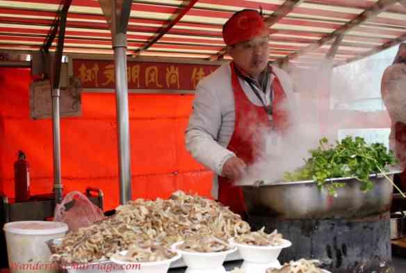 Wangfujing Street Food Market, People of Beijing