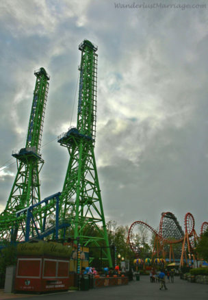 Goliath rollercoaster, Six Flags New England