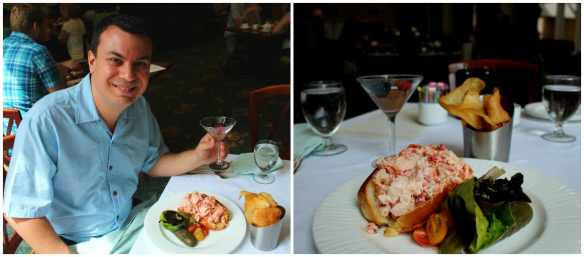 Langham Hotel - lobster roll