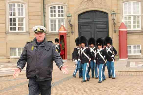 Amalienborg Palace changing of the guard, Copenhagen
