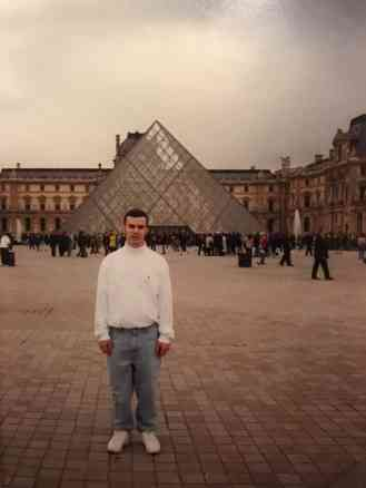 First Time in Paris, 20 years Ago