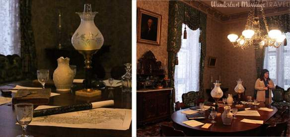 Tour of the White house of the confederacy