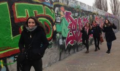 My Spanish friend Sara and her friends visited Berlin at the end of January.