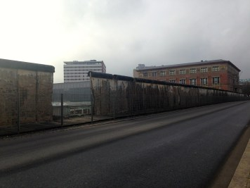 One of the longest remaining strips of the Berlin wall.