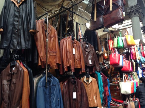 leather and gold are trademark goods of Florence