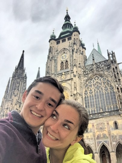 St. Vitus Cathedral is situated entirely within the Prague castle complex. It is one of my favorite churches I have visited this year.