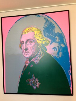 Andy Warhol's pop art of Frederick the Great