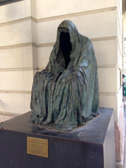 Anna Chromy's Il Commandatore, in memory of Mozart's Don Giovanni premiered October 29, 1787 in the Estates Theatre in Prague.