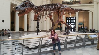 My family calls me T-Rex because of my short arms