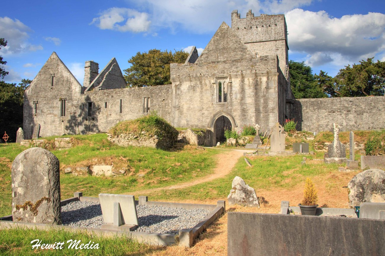 Muckross Abbey on the Ring of Kerry