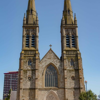 St, Peter's Cathedral in Belfast