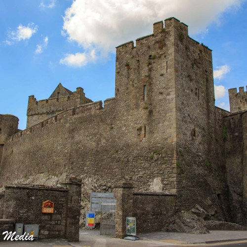 Approaching the Cahir Castle
