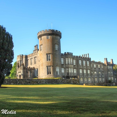 The Dromoland Castle Hotel is a beautiful 16th Century Castle
