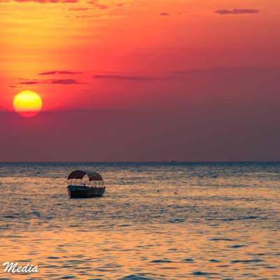 The sunsets in Zanzibar were amazing!