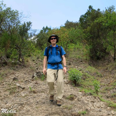 Hiking Mount Meru