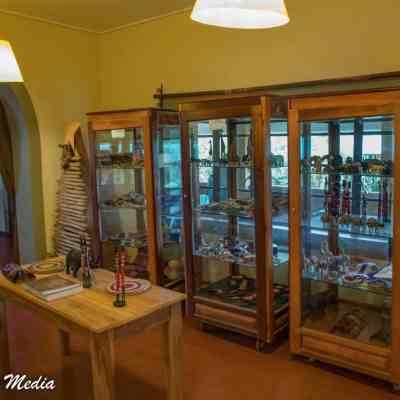 Inside the Rhino Lodge near the Ngorongoro Crater