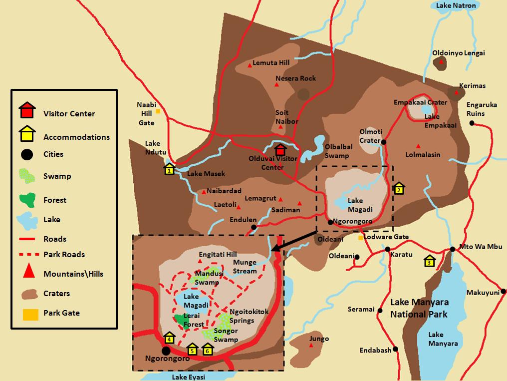 Ngorongoro Map.png