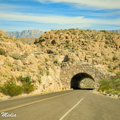 Tunnel near Big Bend National Park
