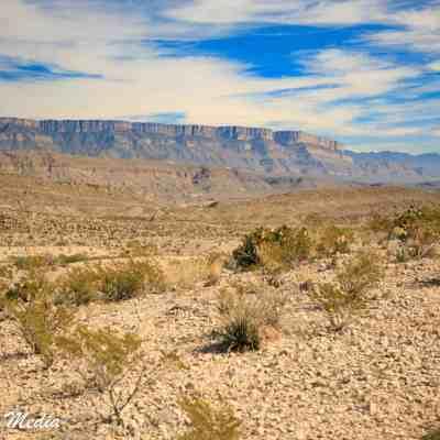 The beautiful Big Bend National Park