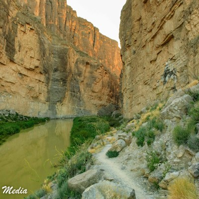 Santa Elena Canyon inside Big Bend National Park