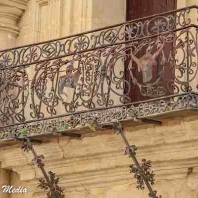 A beautiful balcony in Ronda, Spain