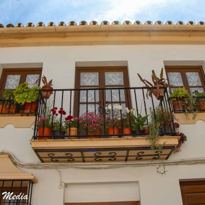 Beautiful balcony in Ronda, Spain