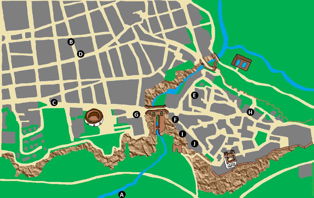 Ronda Hotels Map.png
