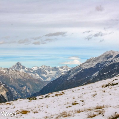 The Swiss Alps near Zermatt