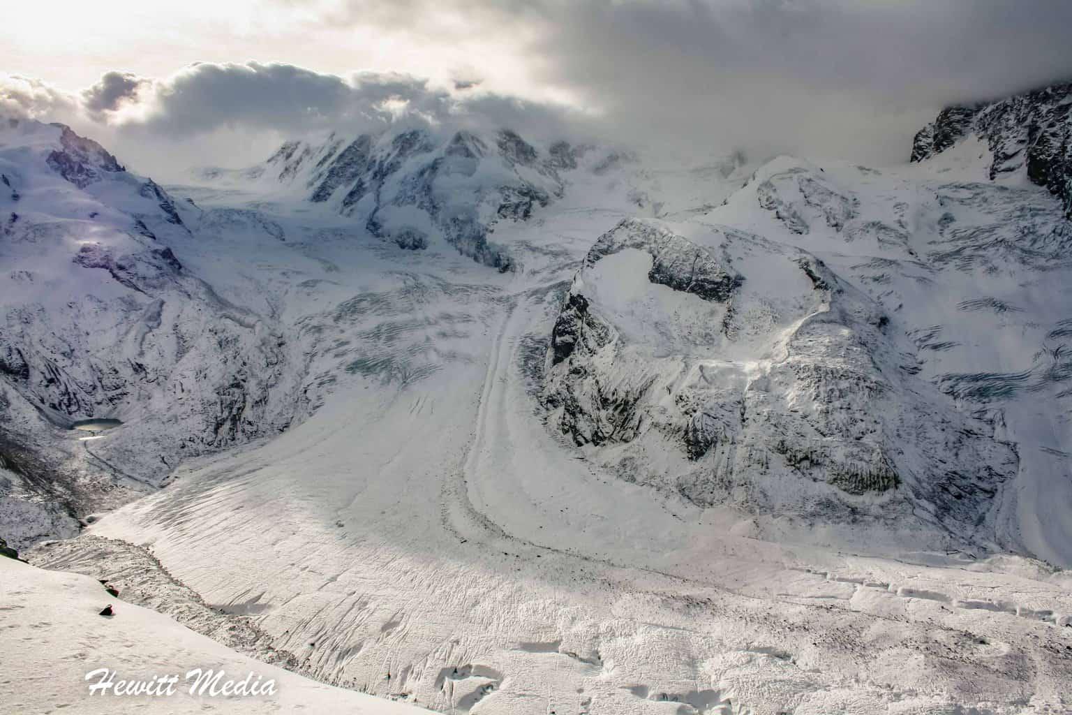 The Gorner Glacier