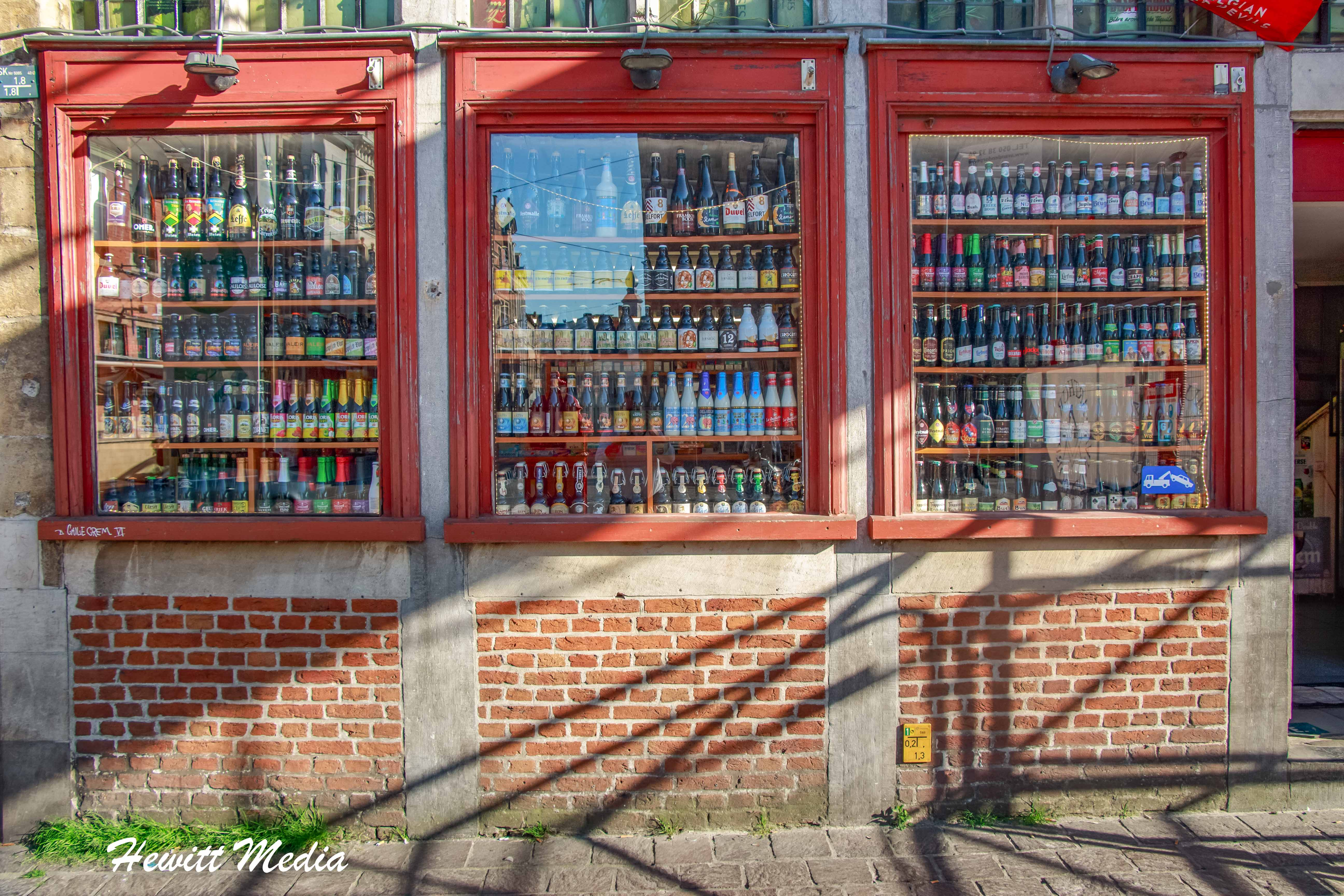 There are over 250 local beers available in Ghent