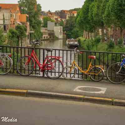 The beautiful Patershol neighborhood