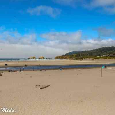 The beach near Canon Beach