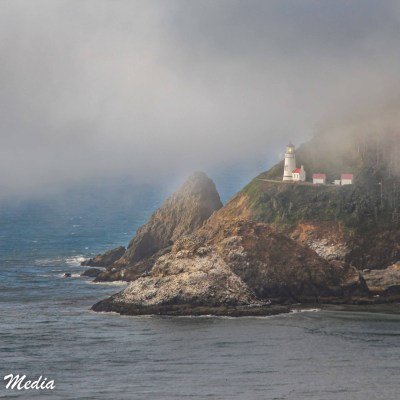 Heceta Head Lighthouse in Oregon