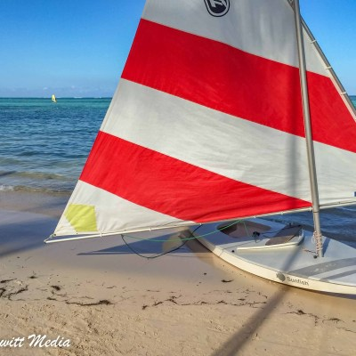Sailing in Punta Cana
