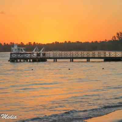Beautiful Punta Cana sunrise