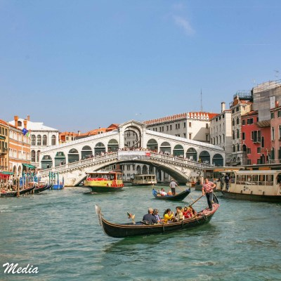 The Grand Canal near the Rialto Bridge
