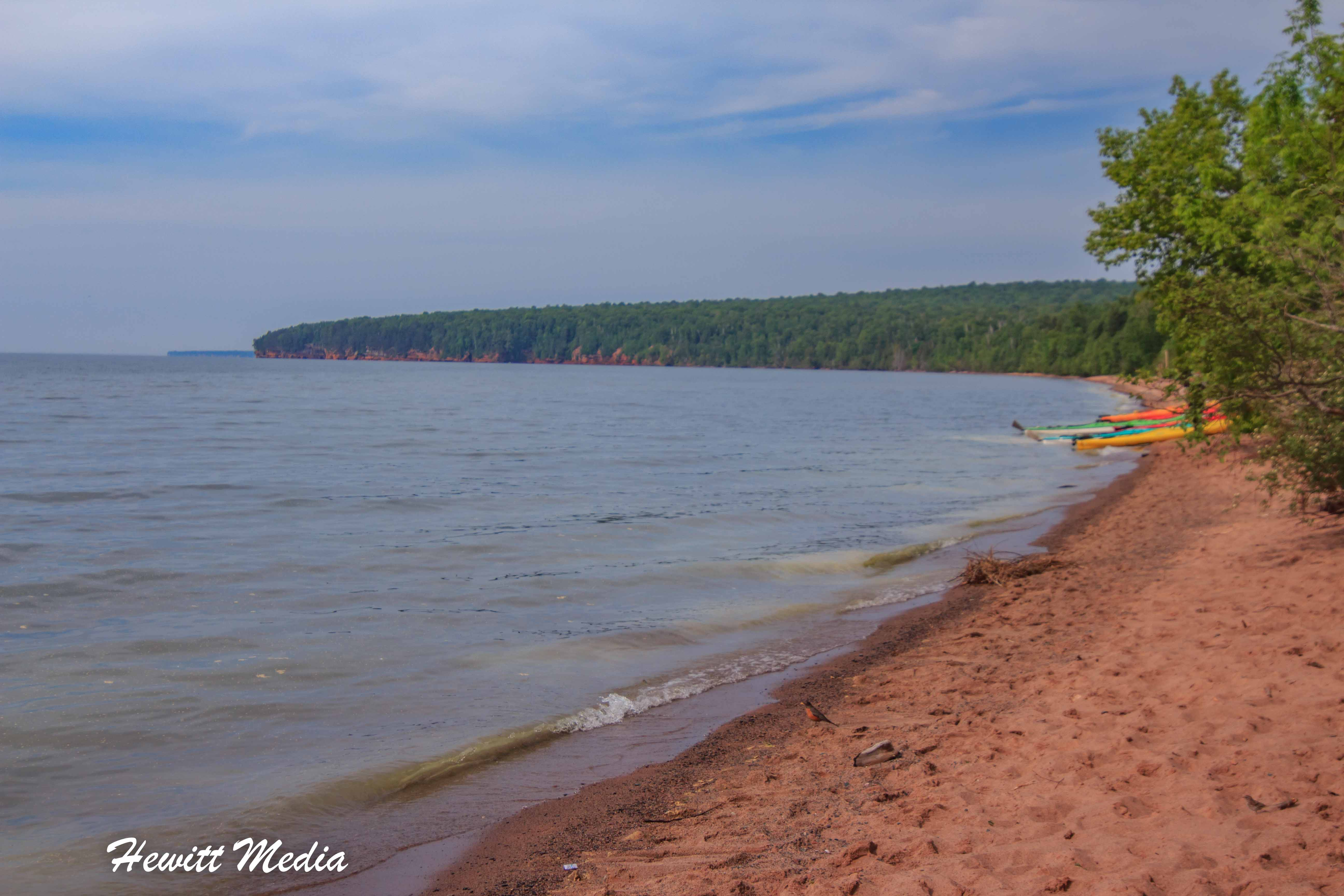 Meyer's Beach in the Apostle Islands