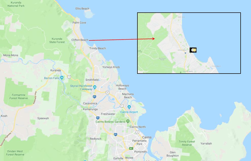 Clifton Beach - Photo Map