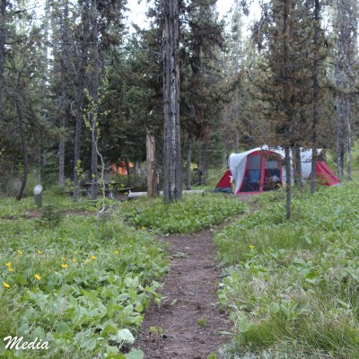 Camping in the Grand Teton National Park