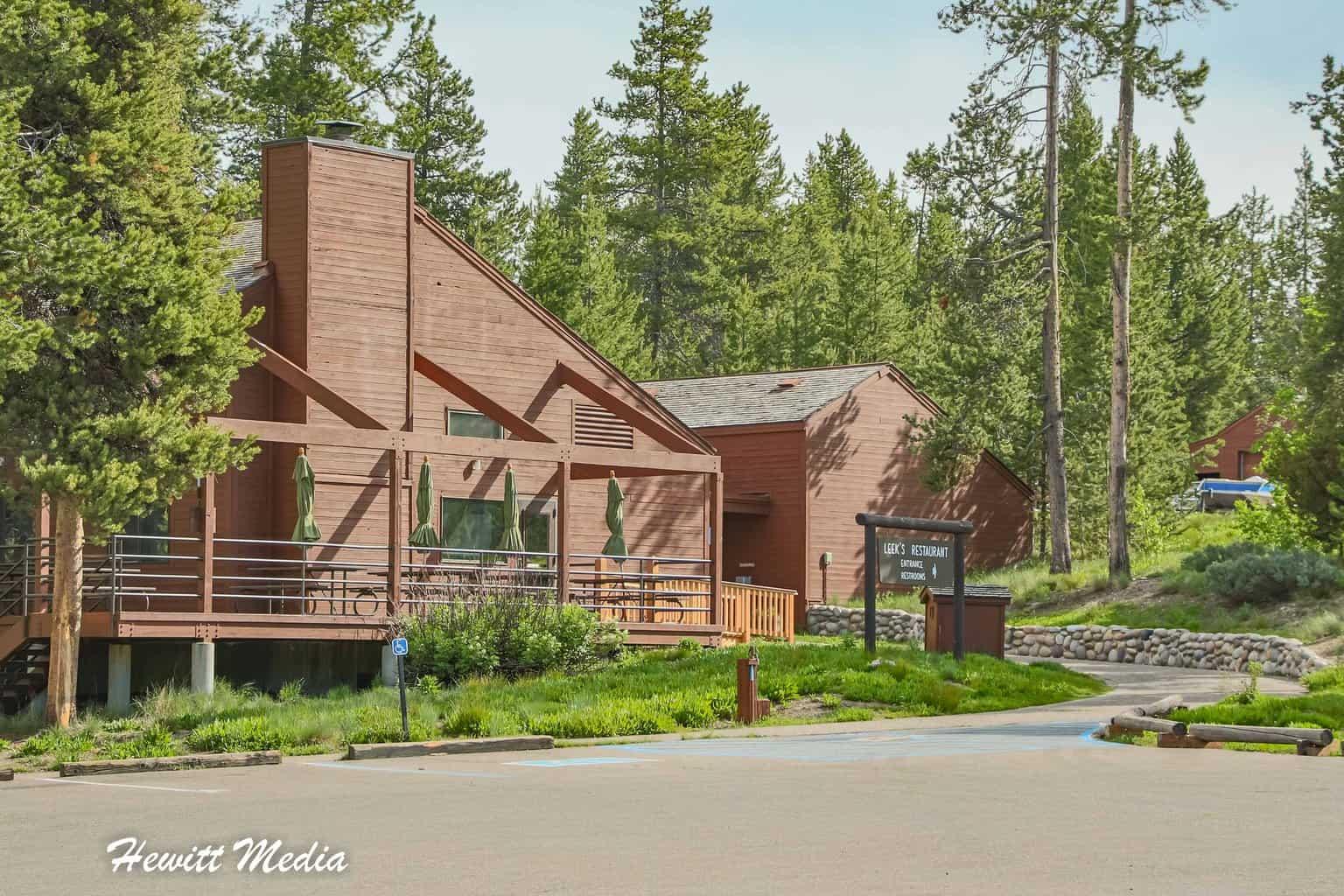 Leek's Restaurant in Grand Teton National Park