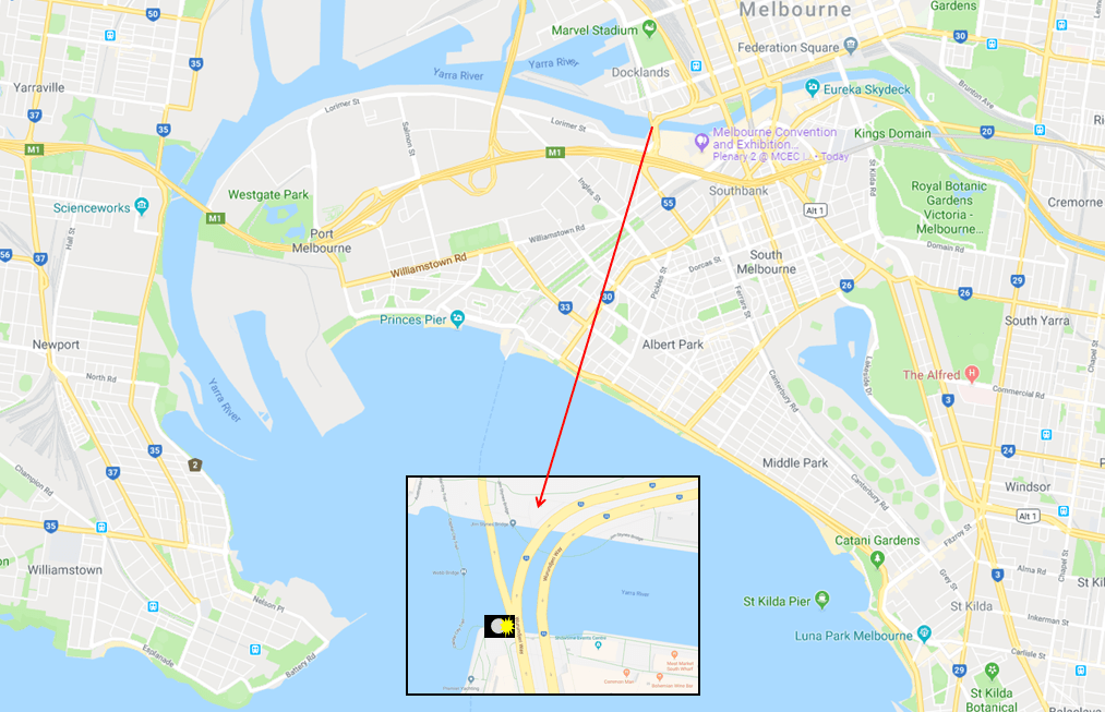 The Webb Bridge - Photo Map