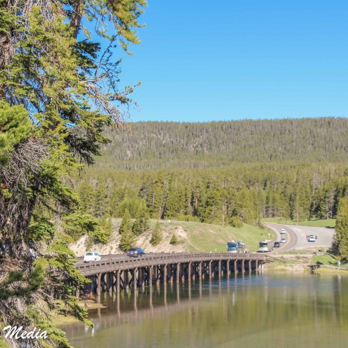Fishing Bridge in Yellowstone