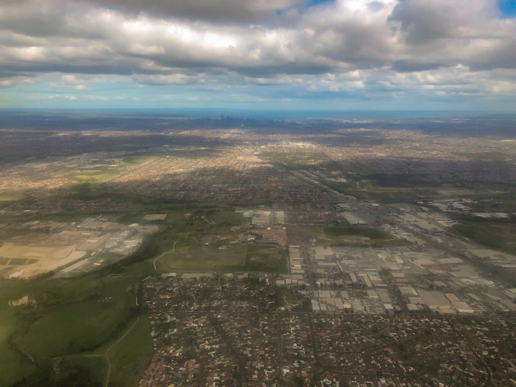 Travel Journal (9/22/2019):  Arriving in Melbourne