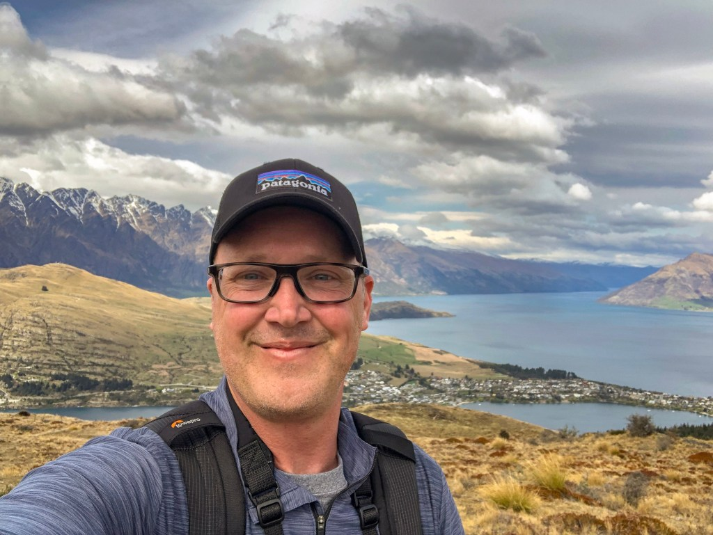 Travel Journal (9/29/2019):  Queenstown Hill and Te Anau