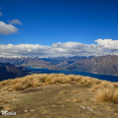 Near the summit of Isthmus Peak