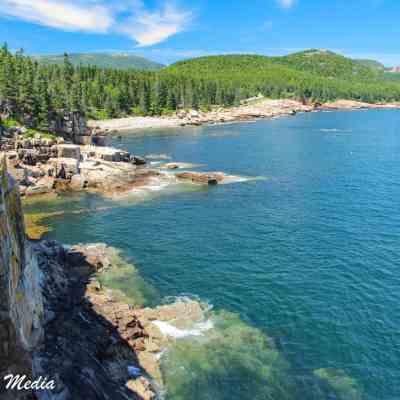 The Otter Cliffs