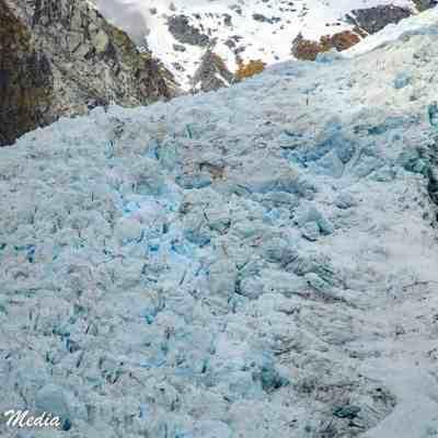 The beautiful Franz Josef Glacier