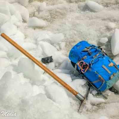 Franz Josef Glacier hiking equipment