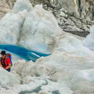 Hiking on Franz Josef Glacier